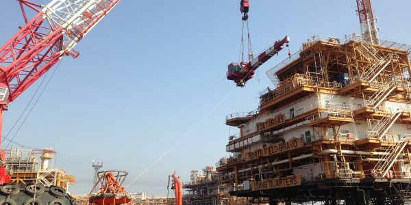 Qatargas Offshore Crane Replacement