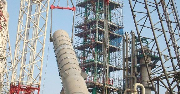 Urea Reactor Installation